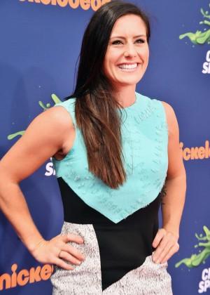 Ali Krieger - 2015 Nickelodeon's Kids' Choice Sports Awards in LA