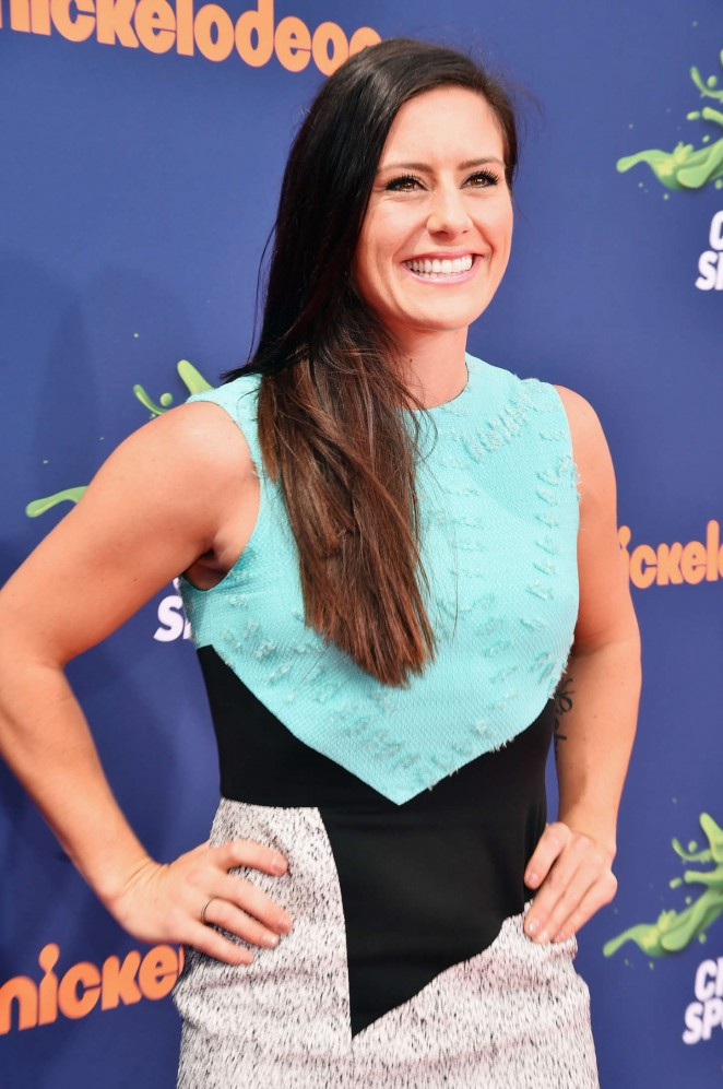 Ali Krieger - 2015 Nickelodeon's Kids' Choice Sports Awards in LA