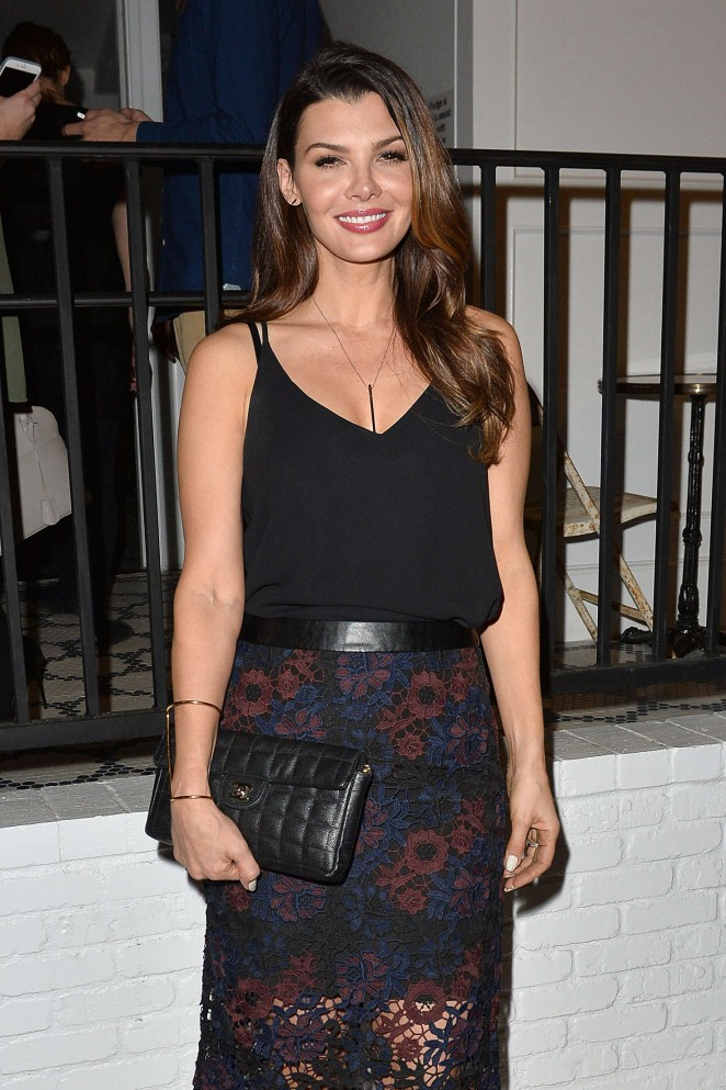 Ali Landry Leaves The Opening of Au Fudge in West Hollywood