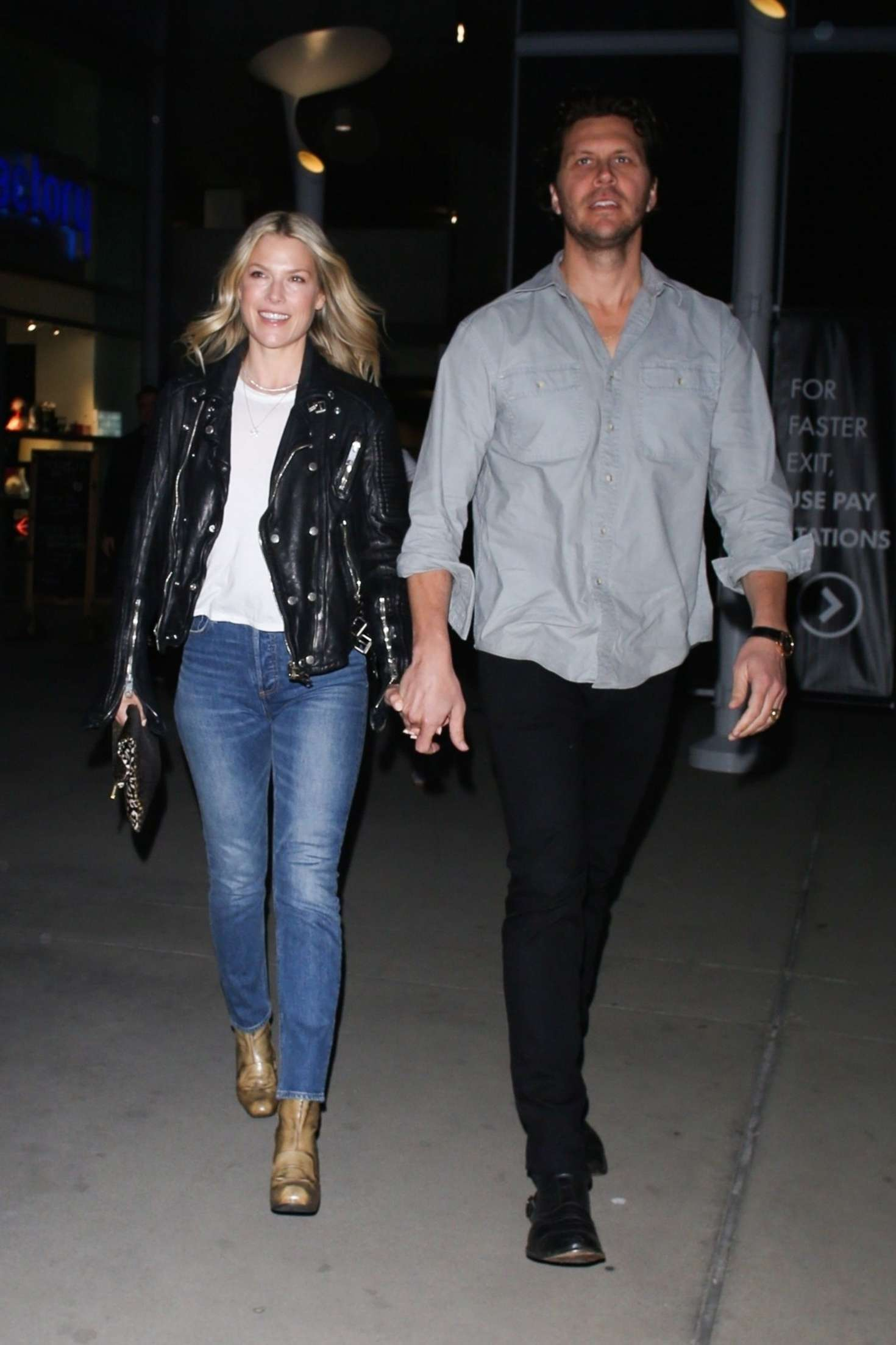 Ali Larter and Hayes MacArthur at the ArcLight in Hollywood