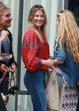 Ali Larter at Gjelina in Venice Beach