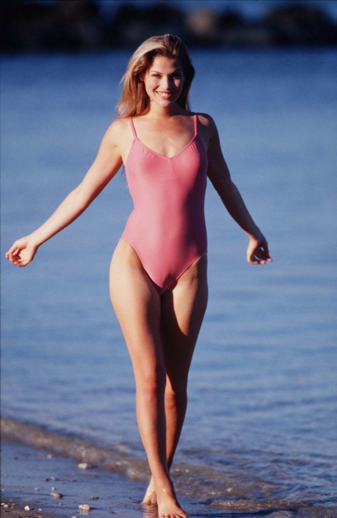 Ali Larter - Hot in Pink In Swimsuit - Photoshoot by Shahram Sanai (From 2001)