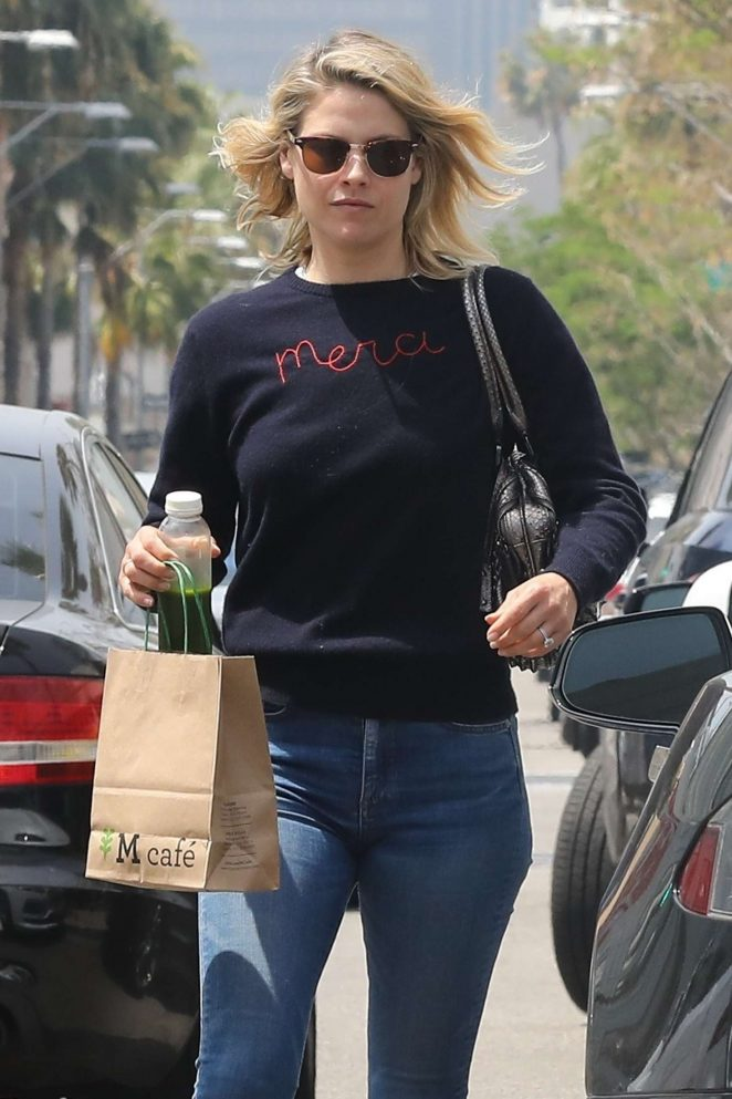 Ali Larter in Jeans out in Beverly Hills