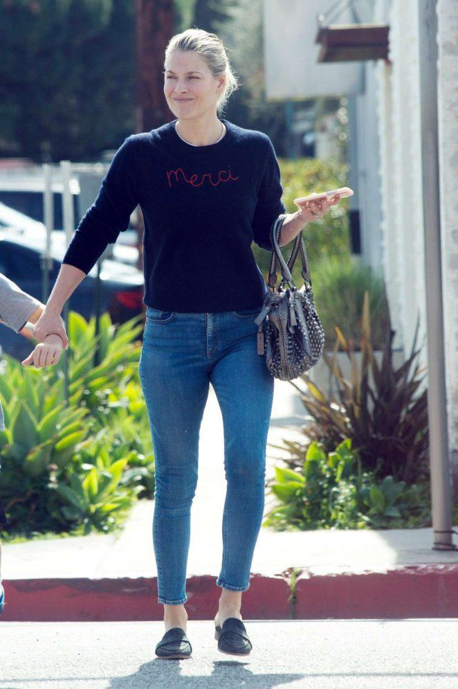 Ali Larter in Jeans out in LA