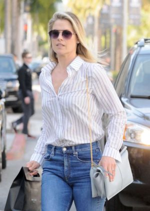 Ali Larter in Jeans Out in Los Angeles