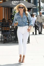 Ali Larter in White Pants - Out in Los Angeles