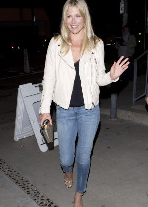 Ali Larter - Leaving Gracious Madre Vegan Mexican Restaurant in West Hollywood