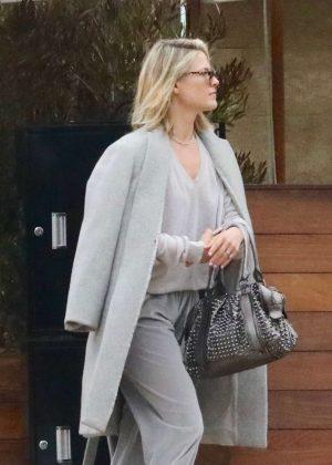 Ali Larter - Leaving the SoHo House in LA