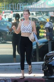 Ali Larter - Left the gym after a workout in Santa Monica