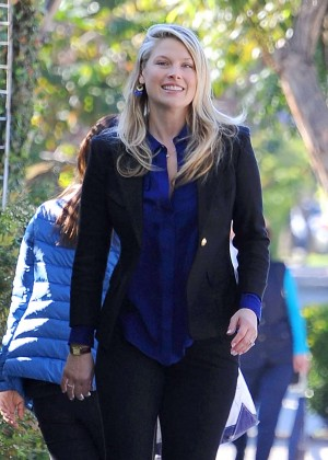 Ali Larter - Out and about in LA