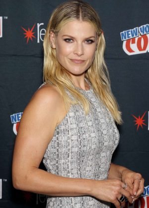 Ali Larter - 'Resident Evil: the Final Chapter' Panel at 2016 New York Comic-Con