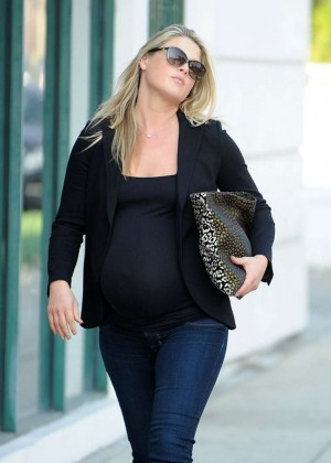 Pregnant Ali Larter - Shopping in West Hollywood