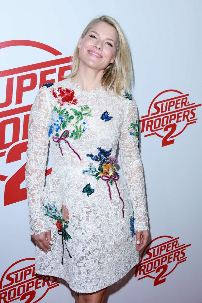 Ali Larter - 'Super Troopers 2' Premiere in Hollywood