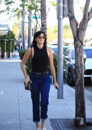 Ali Lohan in Jeans out in Beverly Hills