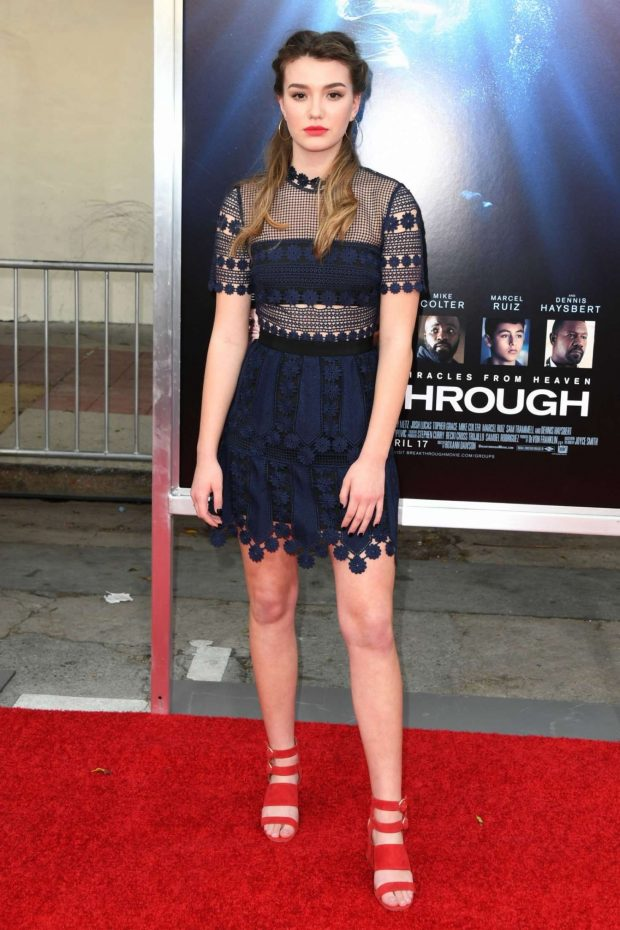 Ali Skovbye - 'Breakthrough' Premiere in Los Angeles