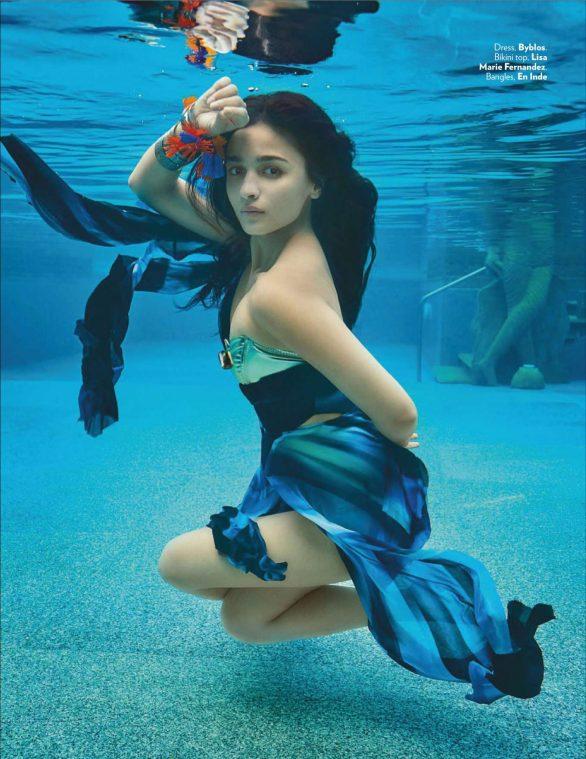 Alia Bhatt - Vogue India Magazine (November 2019)