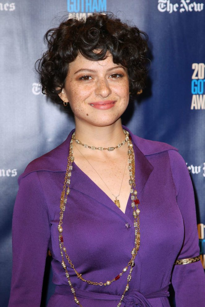 Alia Shawkat - 2017 Gotham Independent Film Awards in NYC