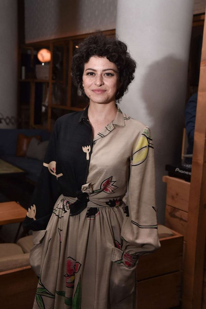 Alia Shawkat - 'Beatriz at Dinner' Screening in NYC