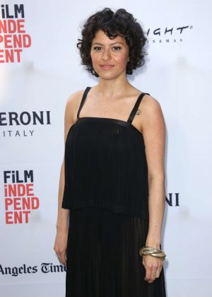 Alia Shawkat - 'Paint It Black' Premiere at 2016 Los Angeles Film Festival in LA