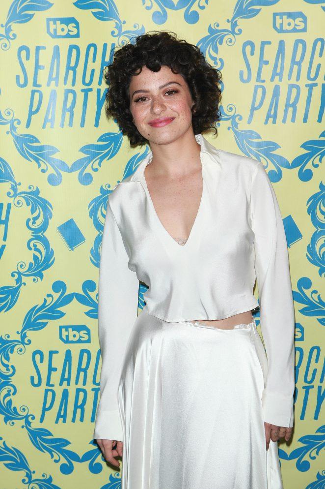Alia Shawkat - 'Search Party' TV Series Premiere in New York