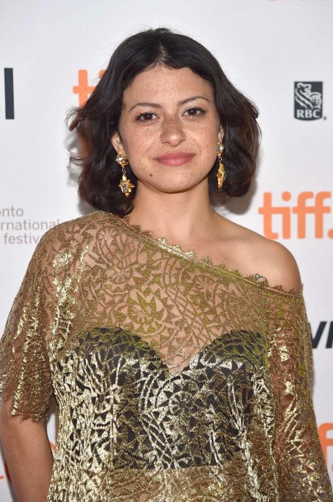 Alia Shawkat - 'The Chickening' Premiere at 2015 TIFF in Toronto