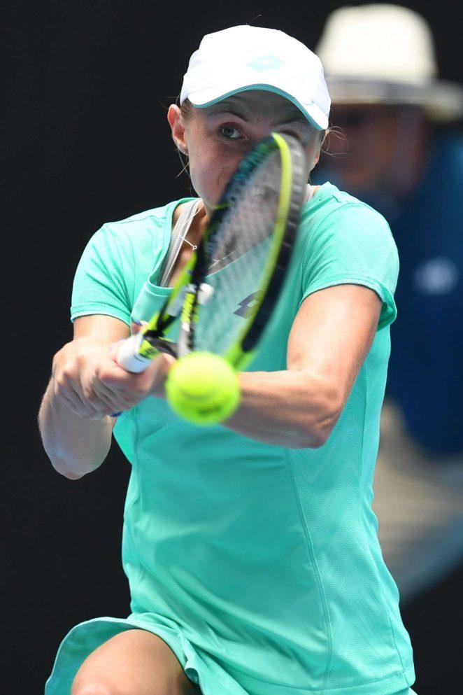 Aliaksandra Sasnovich - 2018 Australian Open in Melbourne - Day 6