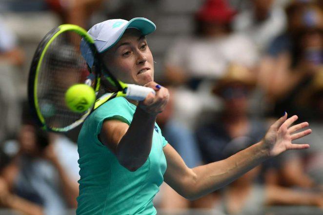 Aliaksandra Sasnovich: 2018 Australian Open Day 6 -04