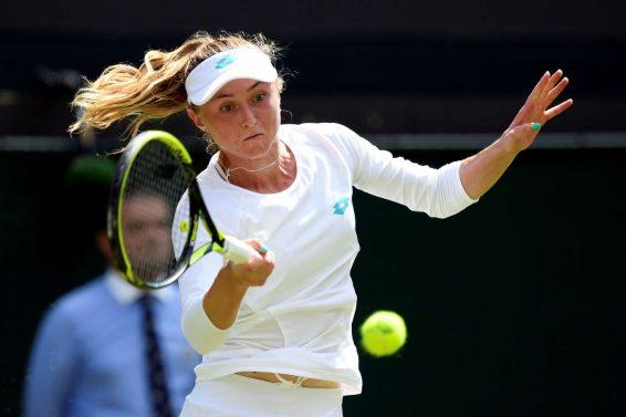 Aliaksandra Sasnovich - 2019 Wimbledon Tennis Championships in London