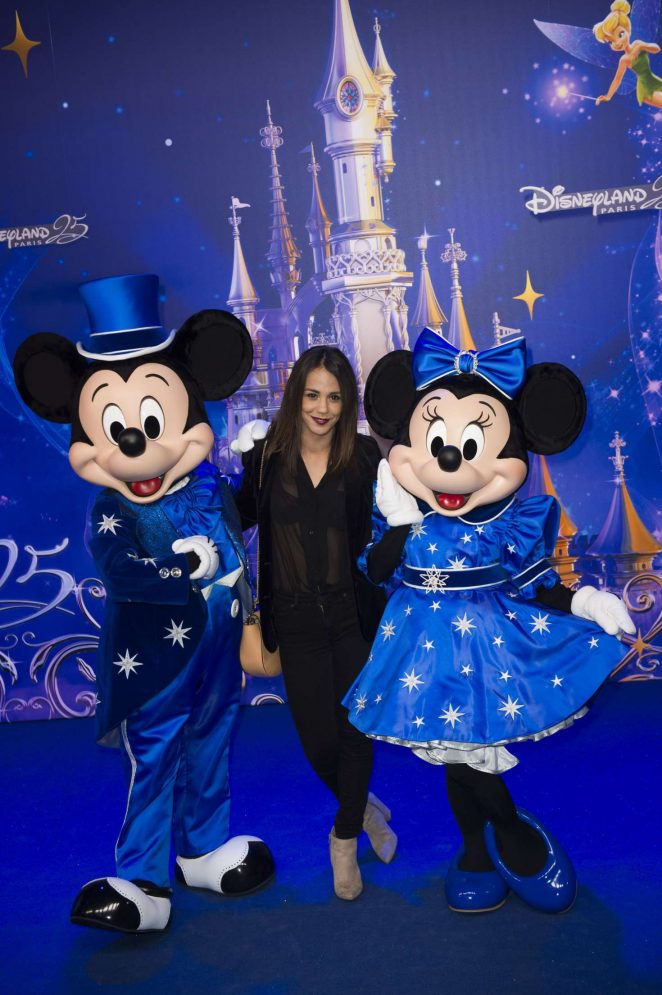 Alice Belaidi - Disneyland 25th Anniversary Celebration in Paris