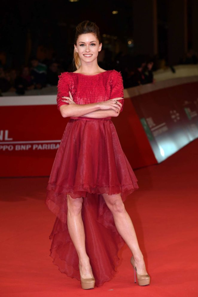 Alice Bellagamba - 'Prendre le large' Premiere at 2017 Rome Film Festival in Rome