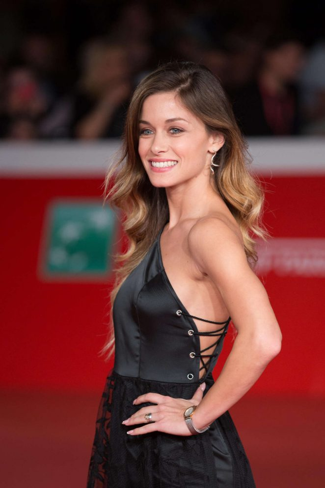 Alice Bellagamba - 'Tramps' Premiere in Rome