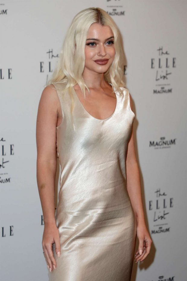 Alice Chater - 2019 ELLE List in association with MAGNUM ice cream in London