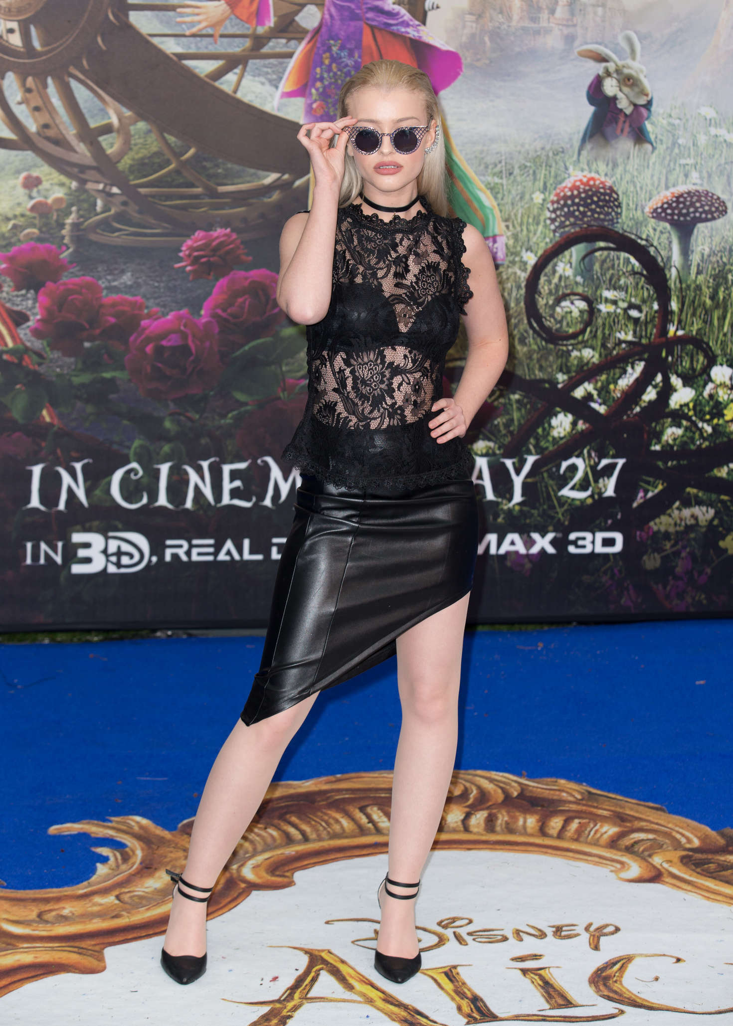 Alice Chater: Alice Through The Looking Glass Premiere