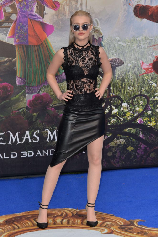 Alice Chater: Alice Through The Looking Glass Premiere -17