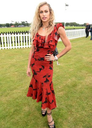 Alice Dellal - Cartier Queens Cup Polo in Windsor