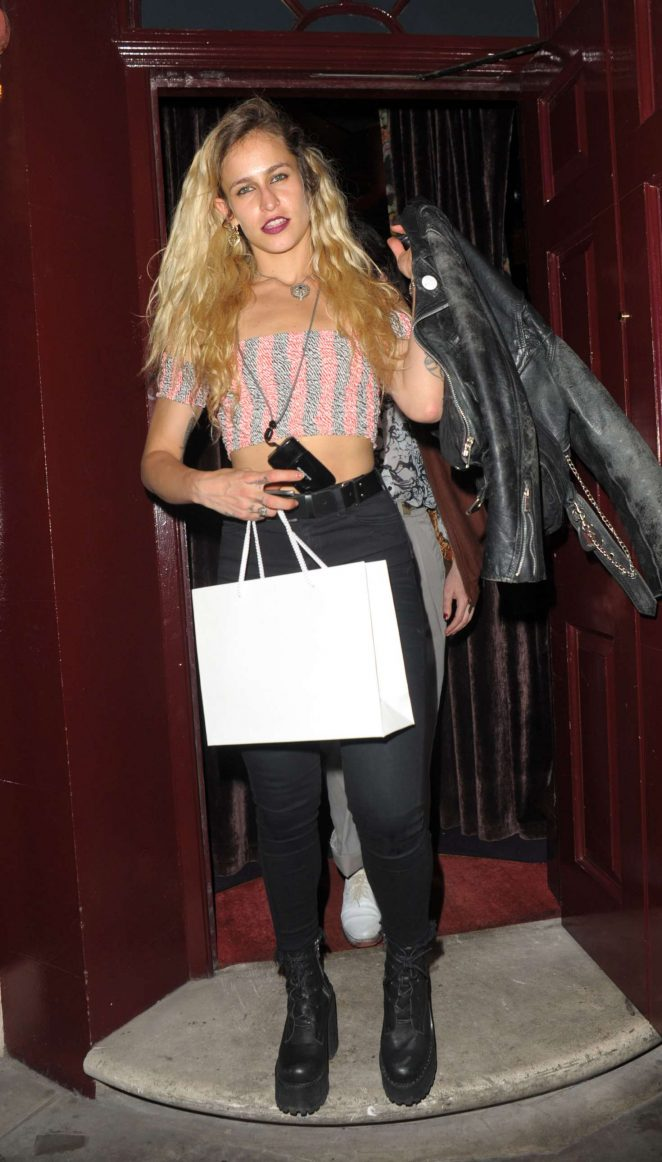 Alice Dellal - Leaving Can't Stop, Won't Stop A Bad Boy Story After Party in London