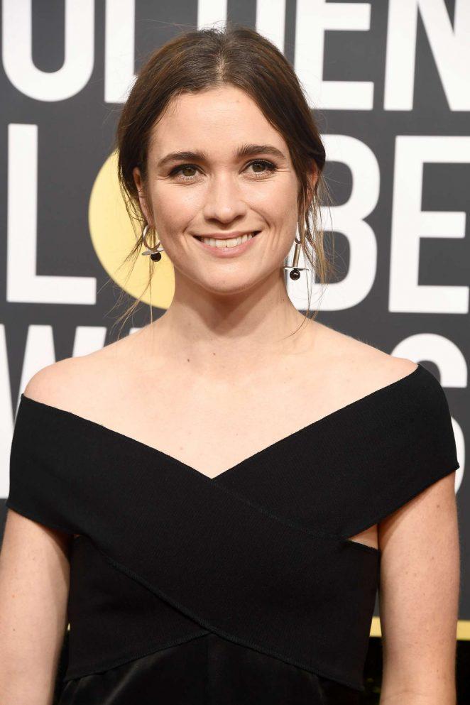Alice Englert – 2018 Golden Globe Awards in Beverly Hills