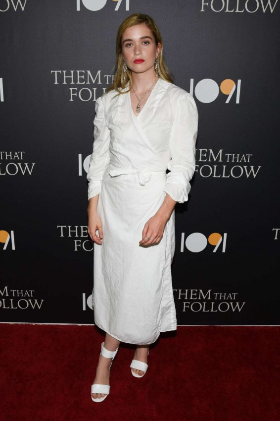 Alice Englert - 'Them That Follow' Premiere in Los Angeles