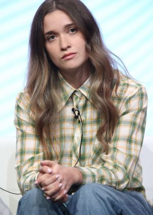 Alice Englert - 'Top of the Lake: China Girl' TV Show Panel at 2017 TCA Summer Press Tour in LA