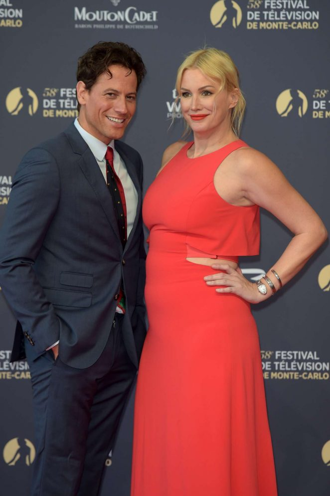 Alice Evans - 2018 International Television Festival Opening Ceremony in Monte Carlo
