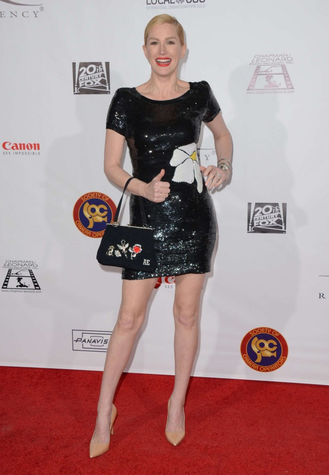 Alice Evans - Society of Camera Operators Lifetime Achievement Awards in LA