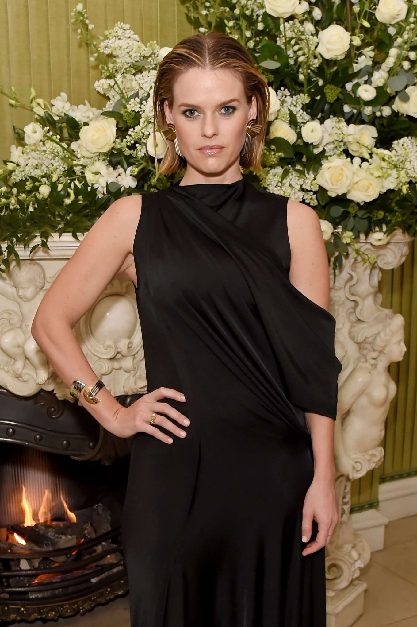 Alice Eve - 2020 British Vogue and Tiffany Fashion and Film Party in London