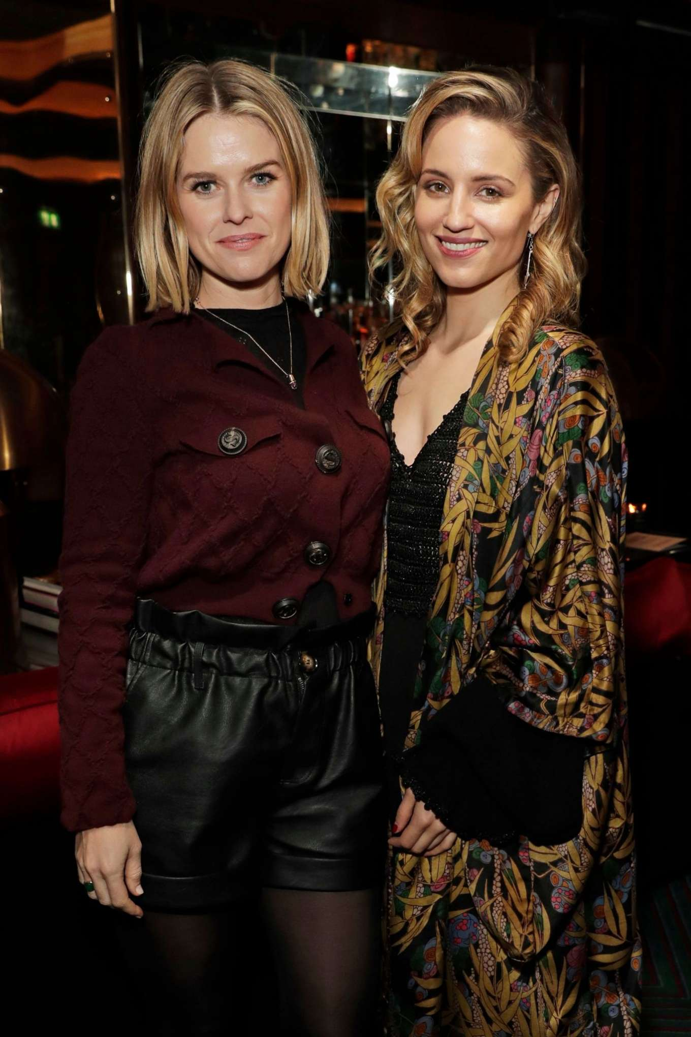 Alice Eve 2020 : Alice Eve and Gemma Arterton – Platform Presents Poetry Gala 2020 After Party-02