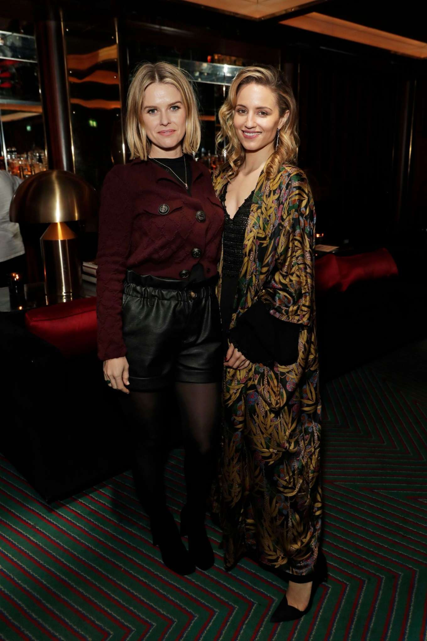 Alice Eve 2020 : Alice Eve and Gemma Arterton – Platform Presents Poetry Gala 2020 After Party-04