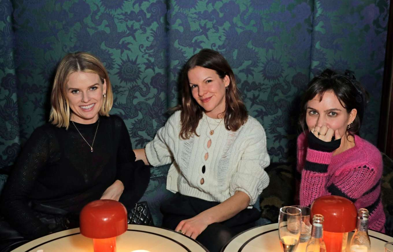 Alice Eve 2020 : Alice Eve and Gemma Arterton – Platform Presents Poetry Gala 2020 After Party-08