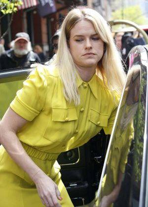 Alice Eve at Greenwich Hotel in New York City