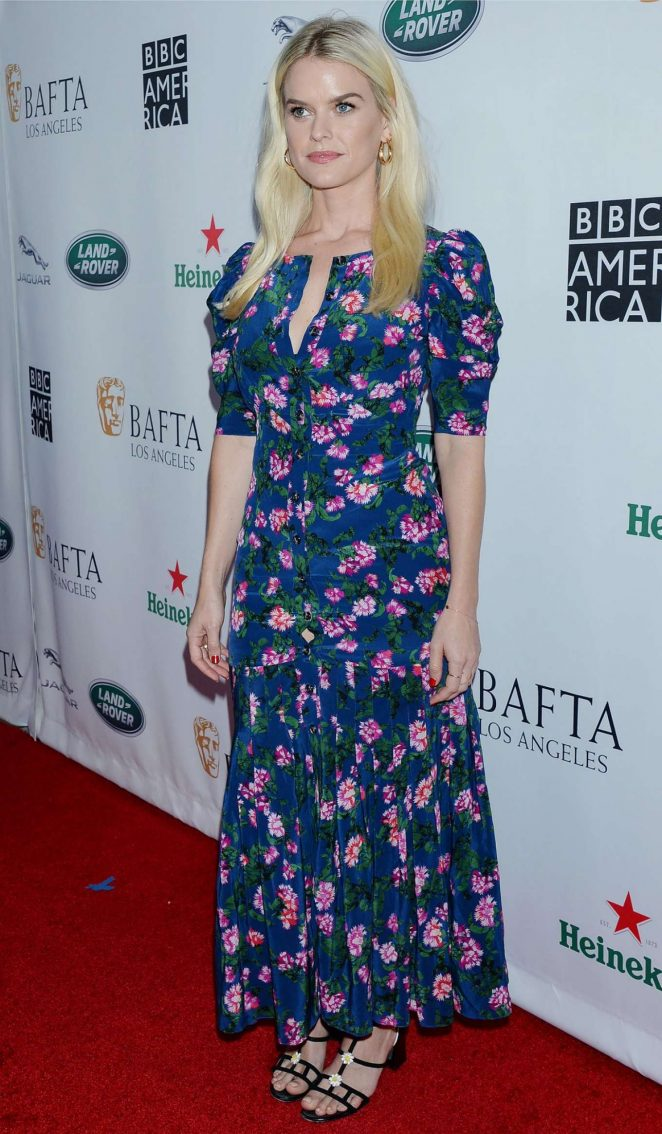 Alice Eve - BAFTA Los Angeles + BBC America TV Tea Party in LA