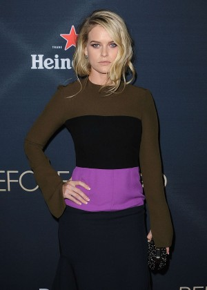 Alice Eve - 'Before We Go' Premiere in Hollywood