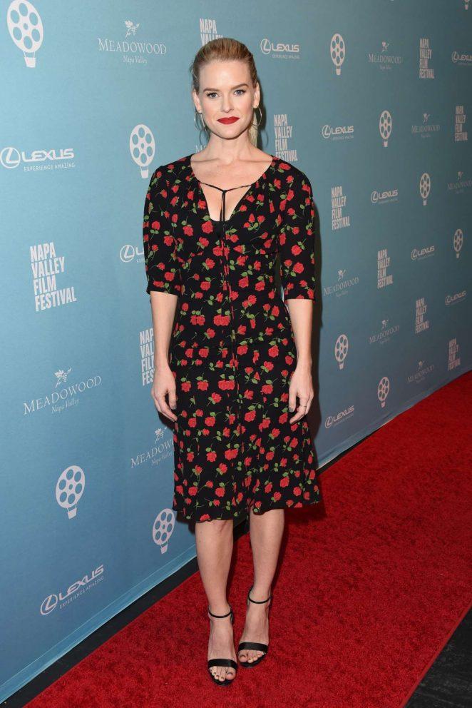 Alice Eve - Celebrity Tributes Program at 2018 Napa Valley Film Festival