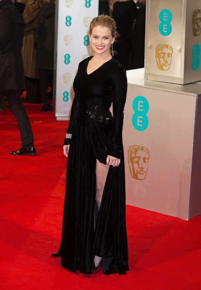 Alice Eve - 2015 BAFTA Awards in London